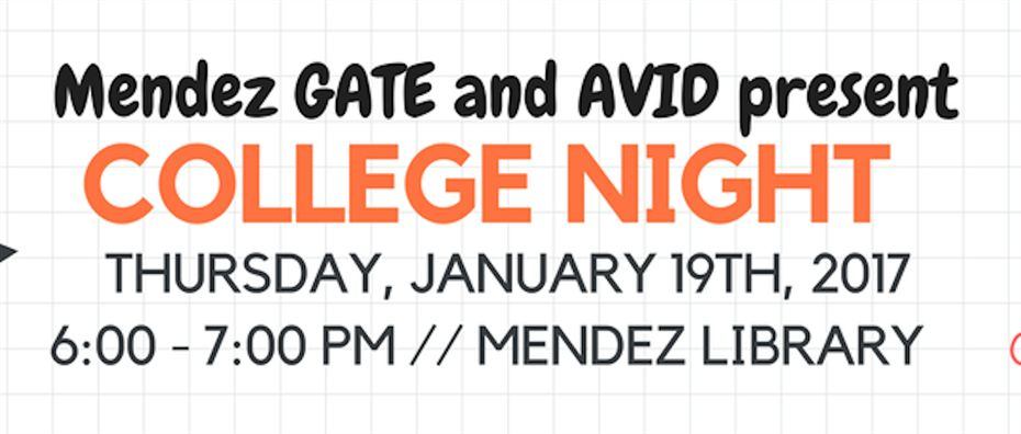Mendez College Night