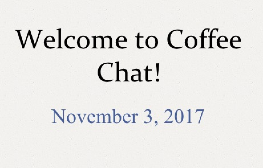 Mendez Coffee Chat