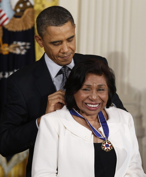 Sylvia Mendez receives Medal of freedom!