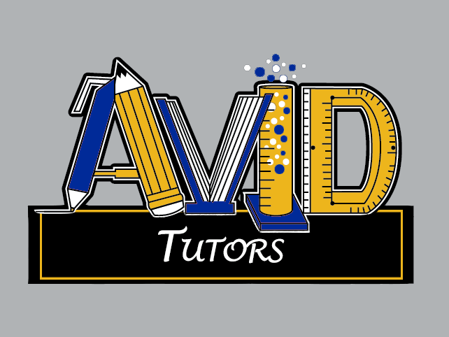AVID Tutoring: (M-F: After School 2:30-3:30pm)  (W-1:30-2:30pm)