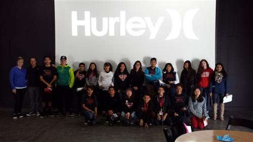 Student Council visits Hurley