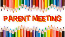 September 10 Self Care Parent Meeting