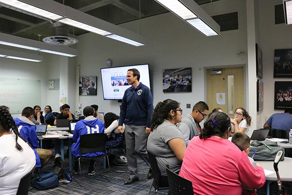 Century High School kicked-off its 2017-18 financial aid season October 3, 2017.