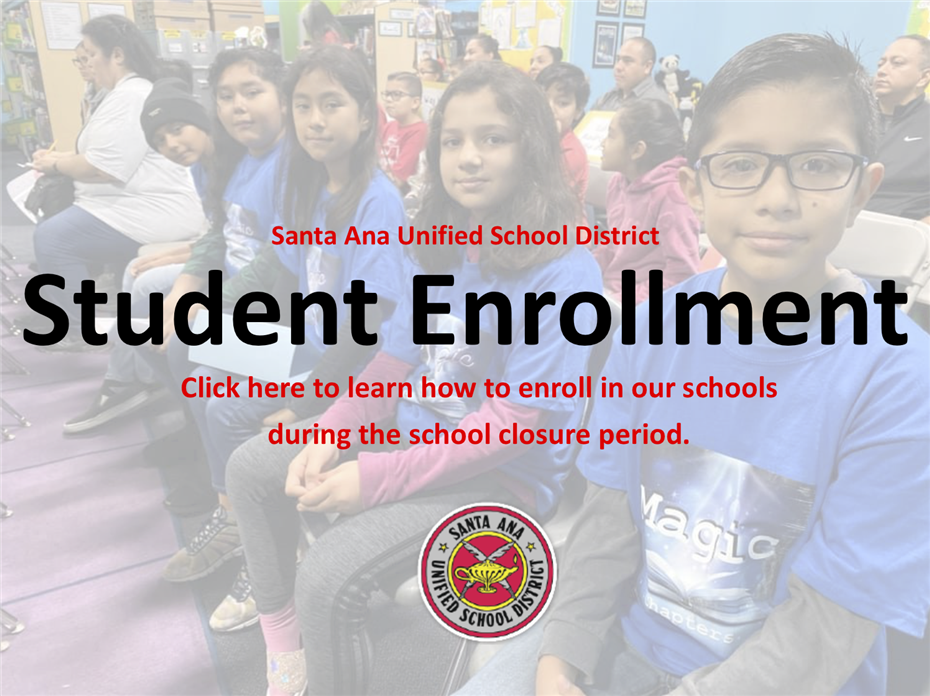 Student Enrollment Procedures During the School Closure Period