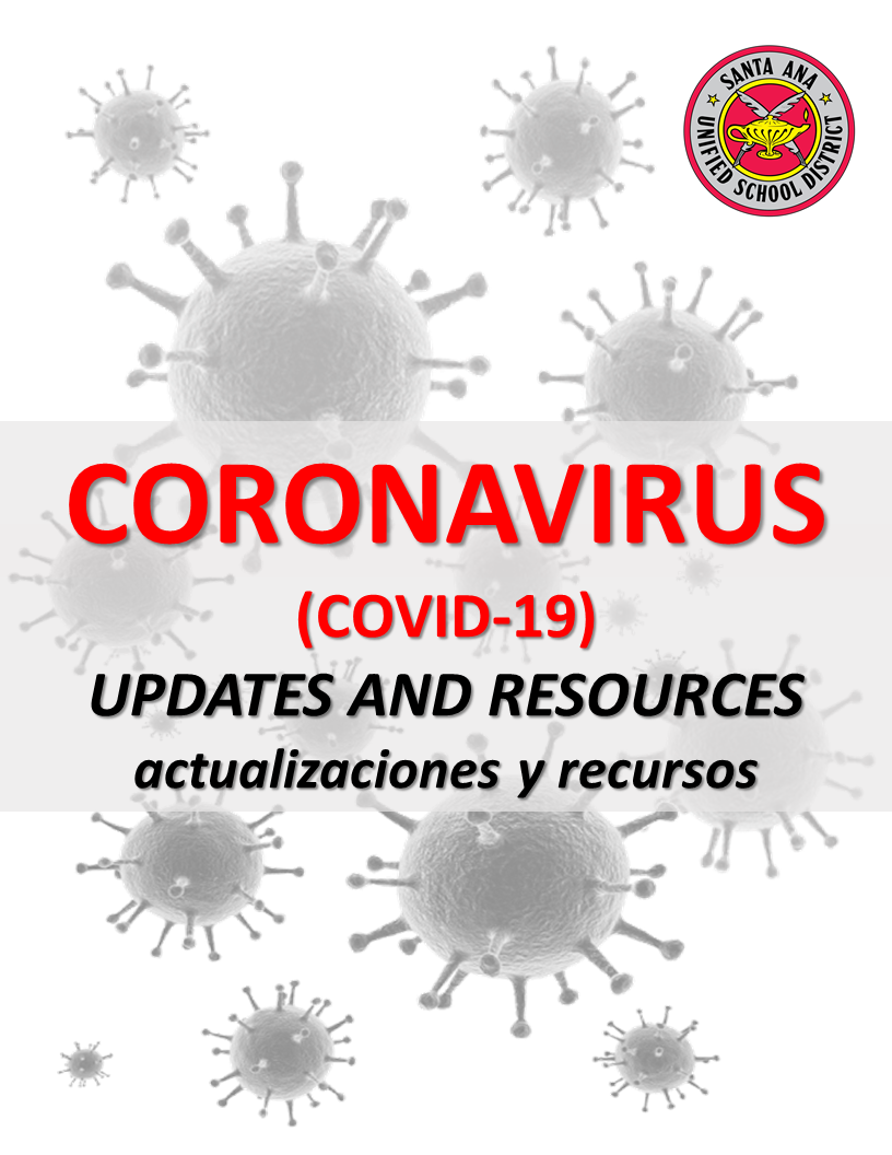 Coronavirus Updates & Useful Links
