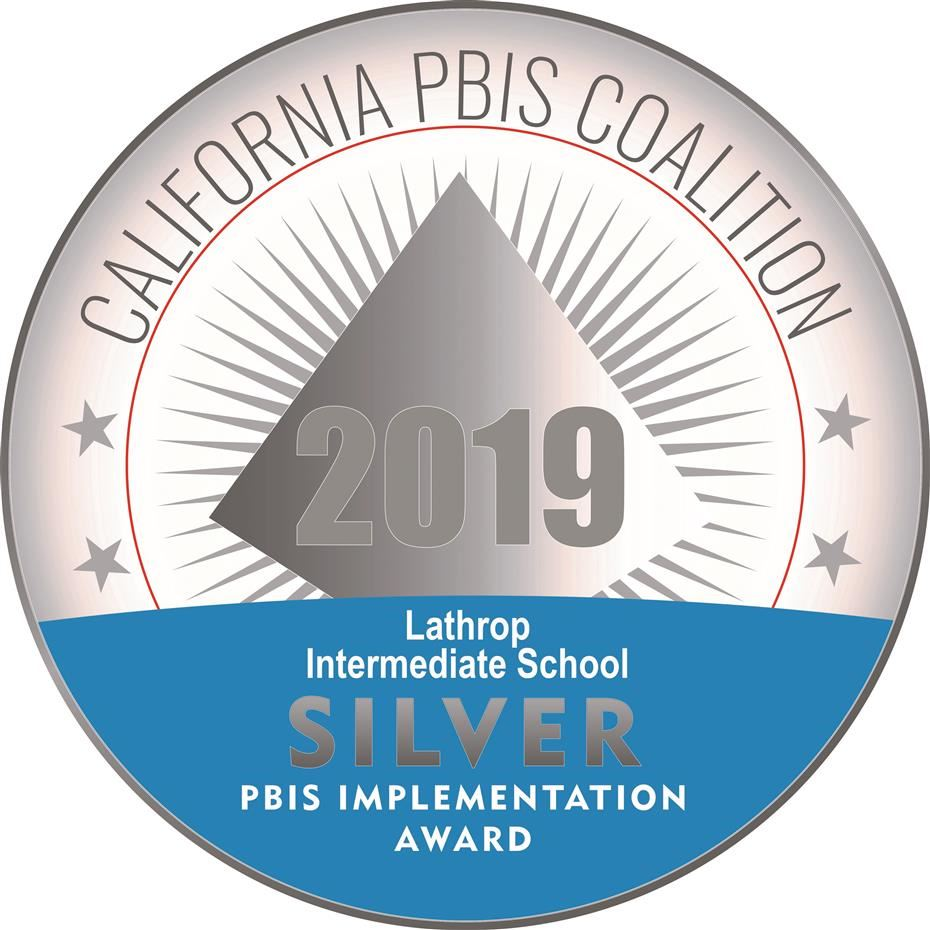 Lathrop Earns 2019 PBIS Silver Award