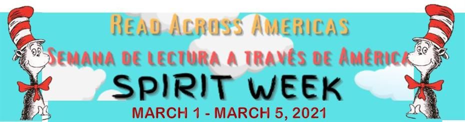 Heroes School Celebrating Read Across America by Hosting a Spirit Week with Special Activities & Daily Fun Dress-Up Day throughout the Week of March 1st