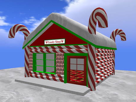 Candy Cane Holiday Shop