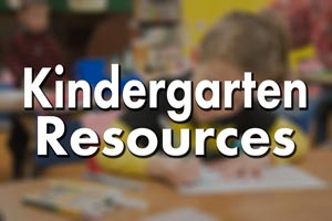 Kindergarten Resources / Recursos de Kindergarten