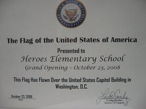 Flag at Capitol II
