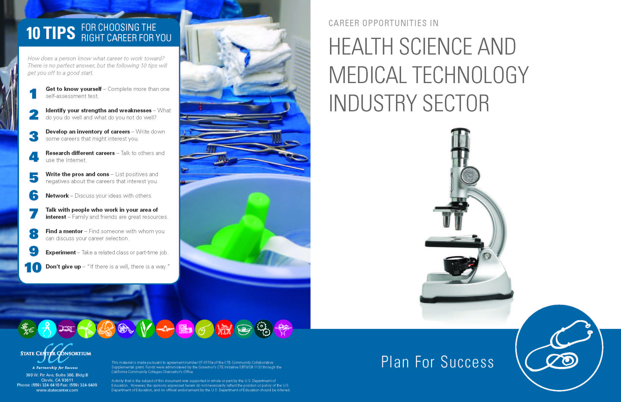 Download brochure: Health Science and Medical Technology