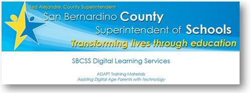 San Bernardino County Training Materials