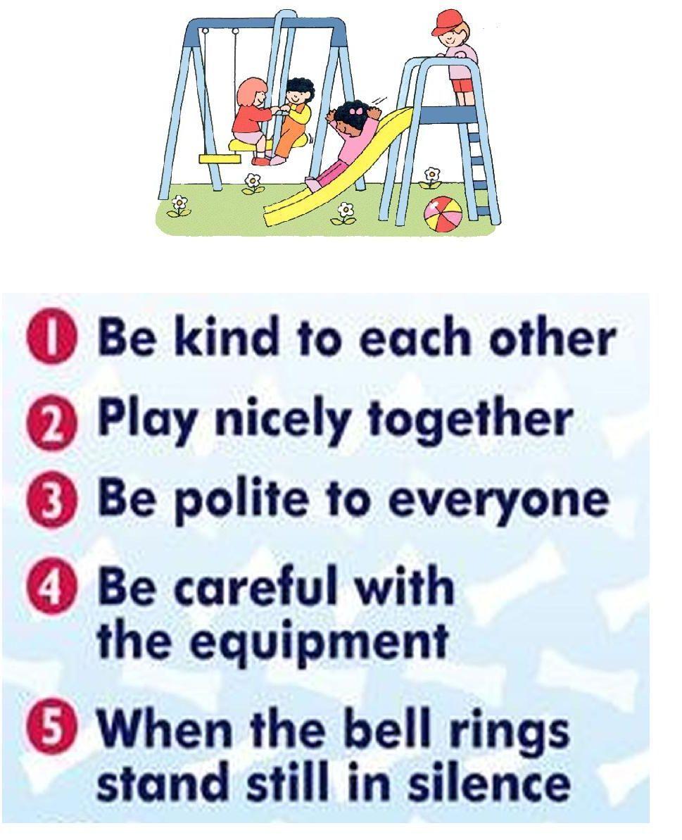 playground rules playground rules