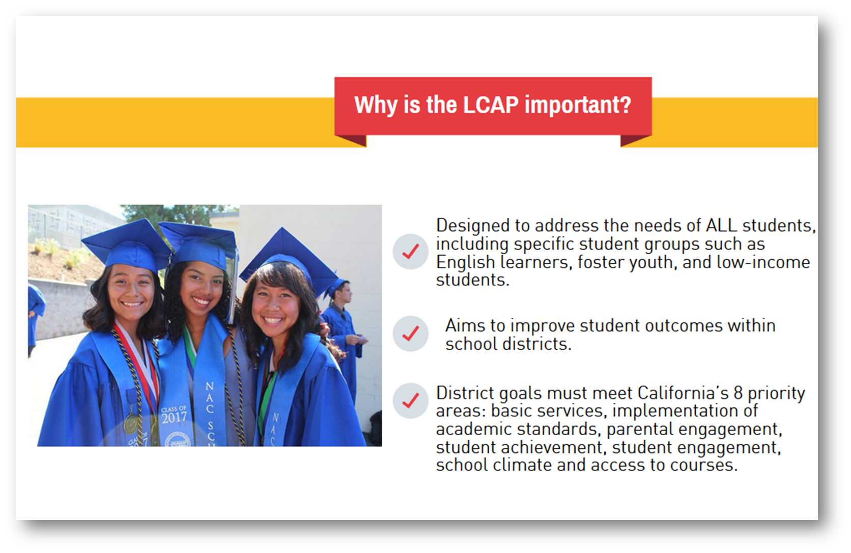 Why is the LCAP important?