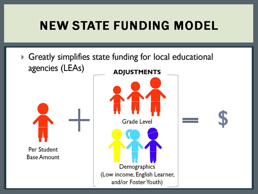 New State Funding Model