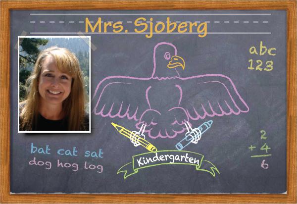 Mrs. Sjoberg's Kinder Class
