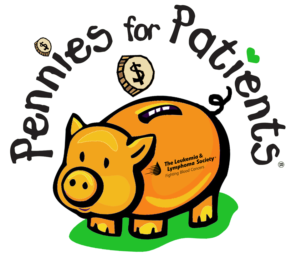 Please donate your change!! Support our Pennies for Patients Drive This Month!!