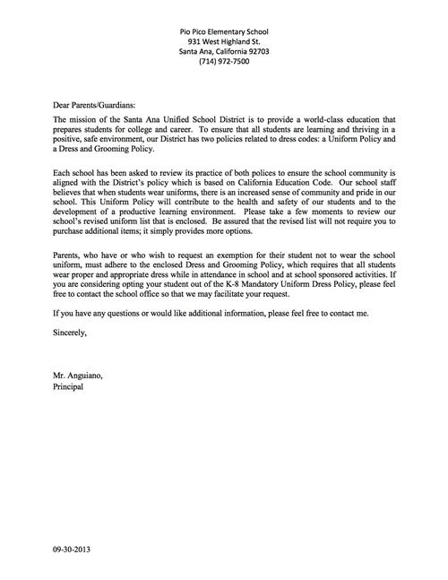 Easter Party Letter To Parents