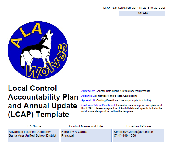 LCAP and Proposed Budget Image
