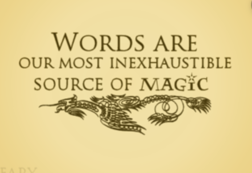 Words are Magic