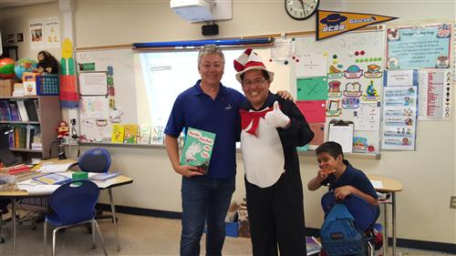 Dr. Seuss Week with Mr. Mares & Mr. Tonai