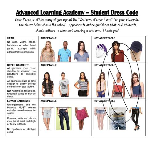Information / Dress Code and Uniform Policy
