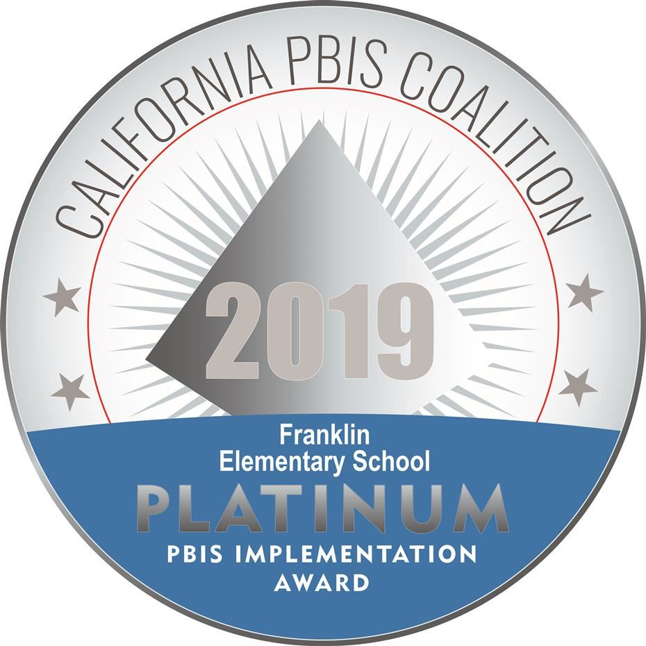 Franklin Elementary is recognized by the PBIS State Coalition