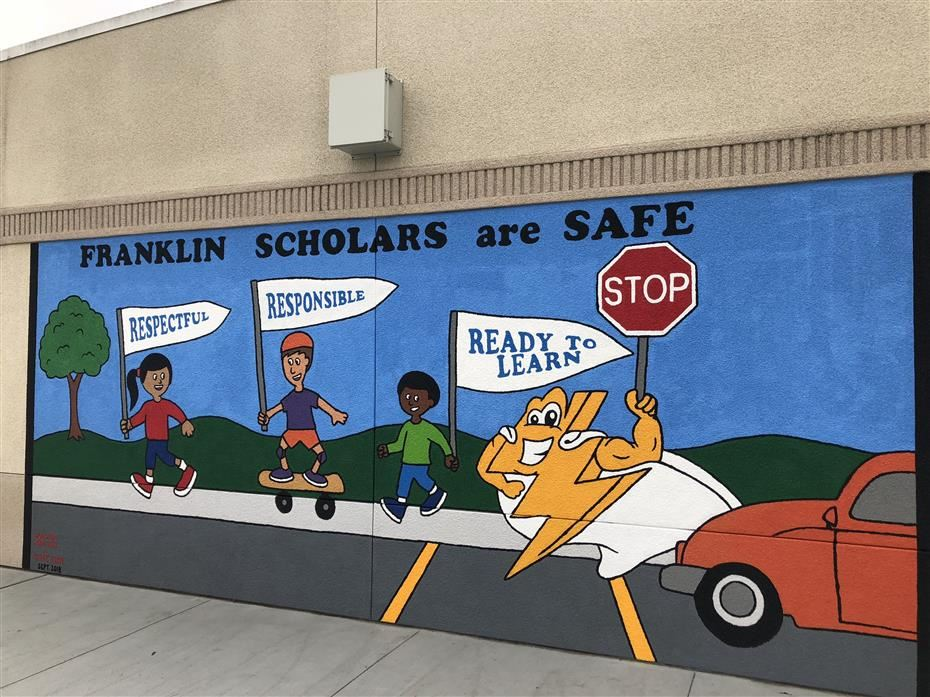 Franklin Get's New Mural!