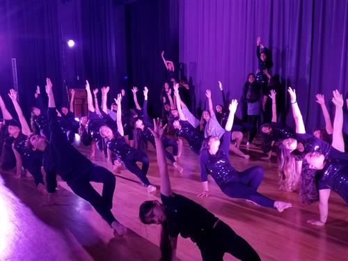 Dance 1 Period 1 at Spring Dance Show 2017-2018