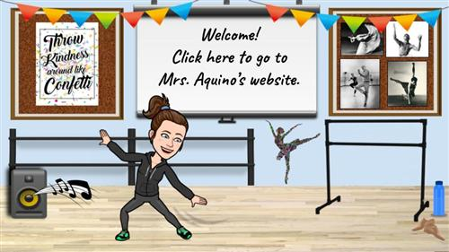 Portal to Mrs. Aquino's website