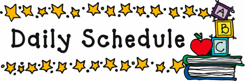 2020/2021 School Schedule and Pickup for Lunches/Horario escolar y retiro del almuerzo