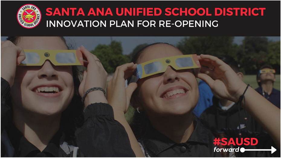 SAUSD Innovation Plan for the Reopening of School