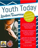 Flyer Youth Today leaders Tomorrow log