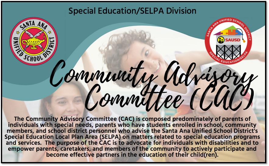 Join us for a Community Advisory Committee (CAC) Meeting on Thursday, February 18th, 2021 from 5:30pm to 7:00pm.