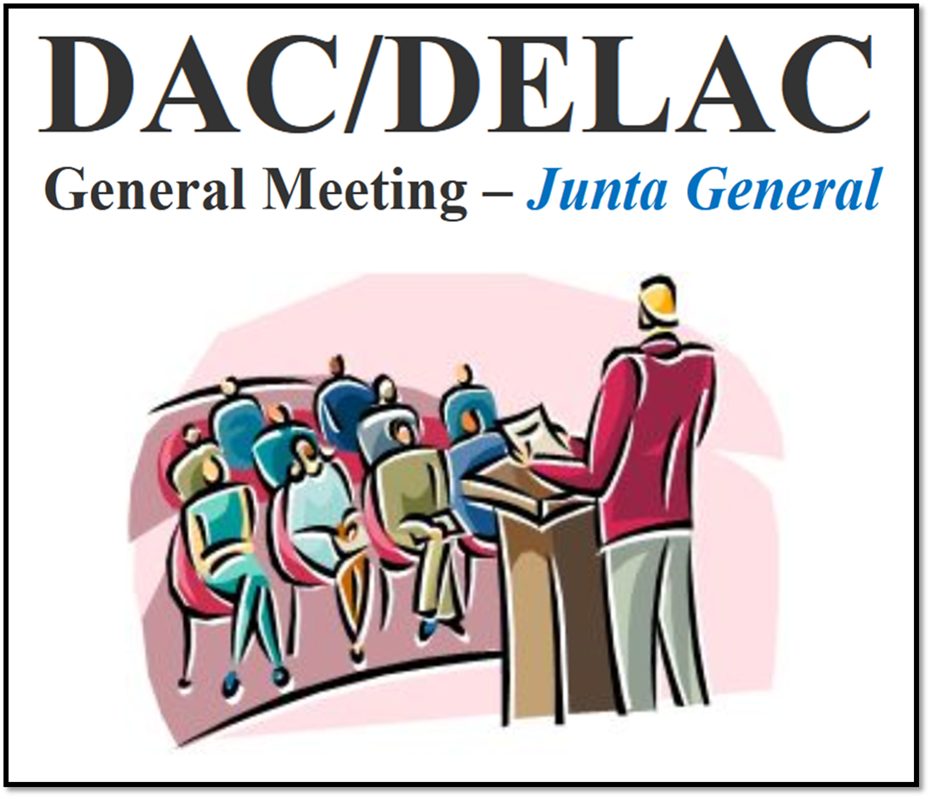 SAUSD District Advisory Committee and District English Learner Advisory Committee (DAC/DELAC) General Meeting is Scheduled on Monday, January 11th at 4:00 PM - 5:30 PM