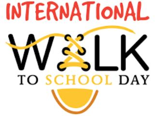 Celebrate International Walk/Bike to School Day, Wednesday, October 2nd, 2019