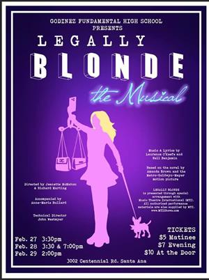 Legally Blonde the Musical, Godinez