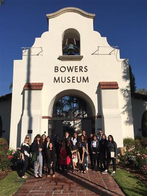 Teen Arts Council – Collaboration with Bowers Museum