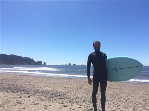 Surfing in Washington!