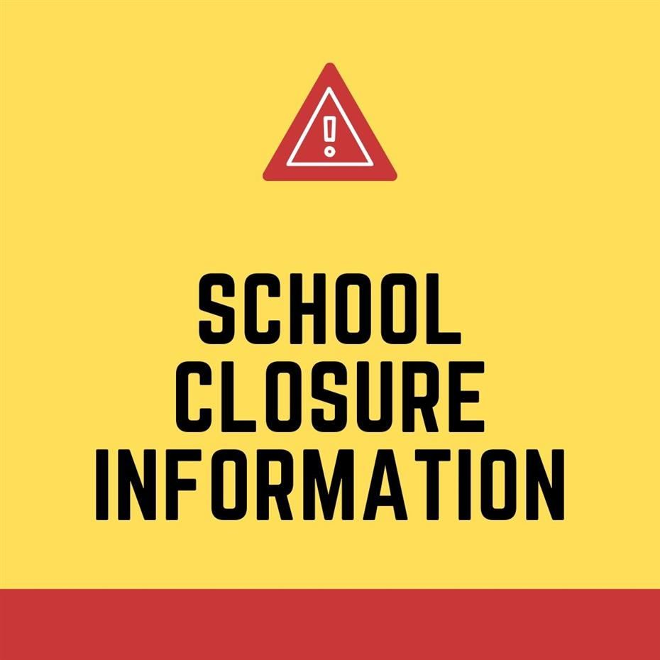 School Closure Message