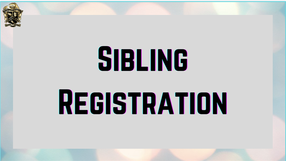 Sibling Priority Registration