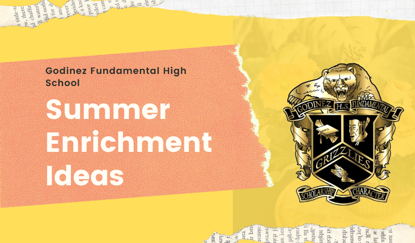 Summer Enrichment Ideas