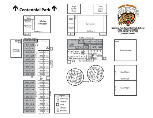 General Information Campus Map