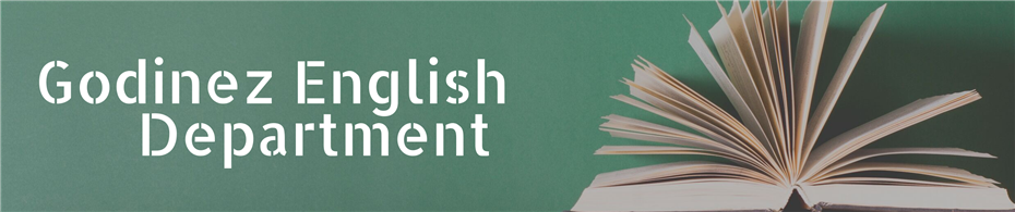 Godinez English Department Banner Heading
