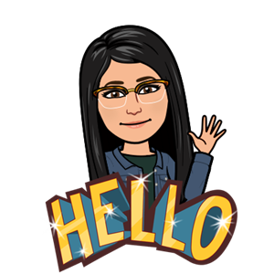 Teacher Bitmoji image waving hello!