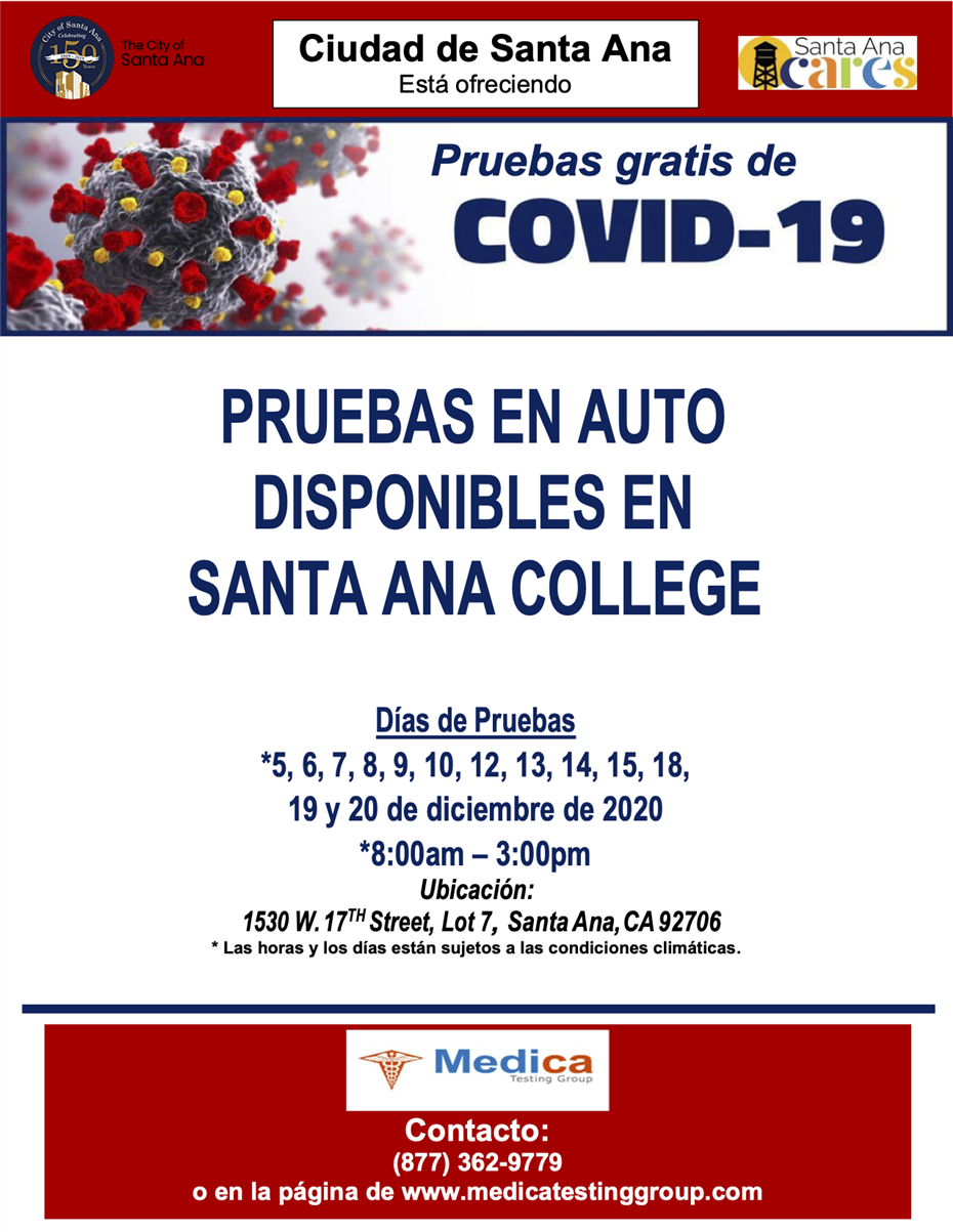 SAC testing December - Spanish