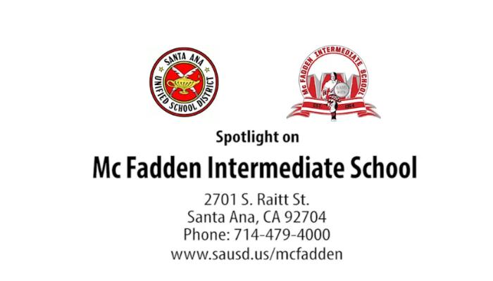 Mcfadden Intermediate School Overview