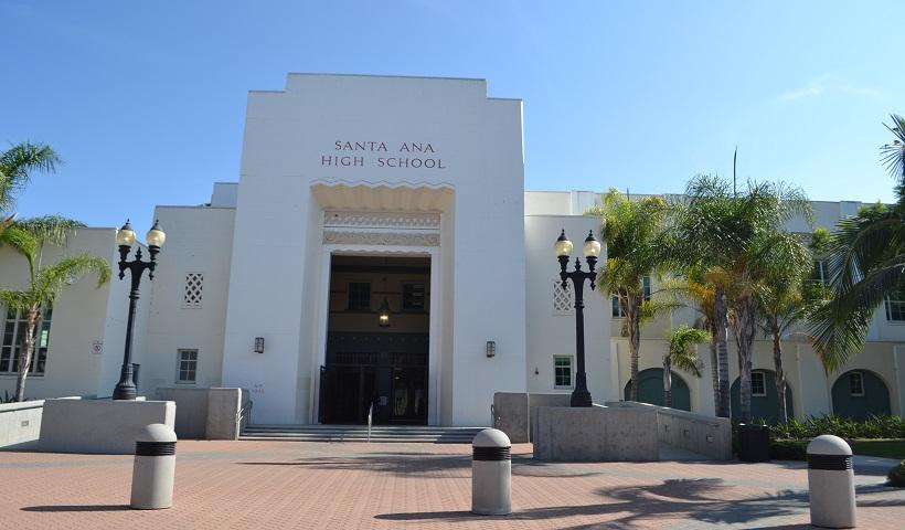 santa ana high school overview