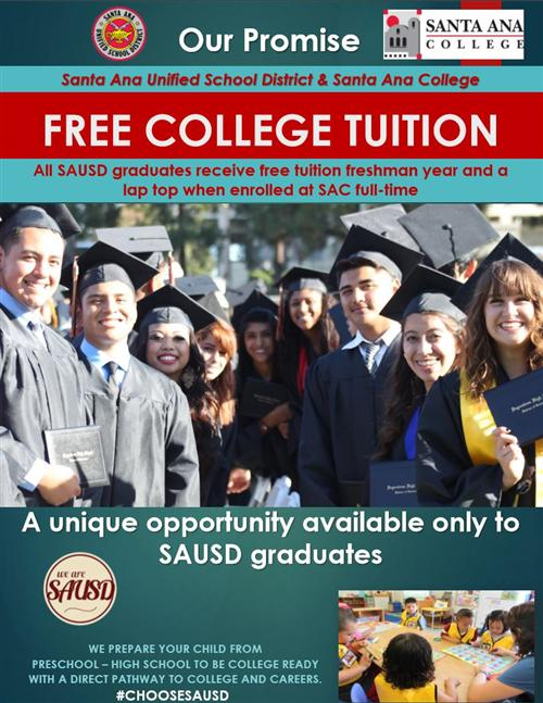 College Promise with SAC for SAUSD graduates