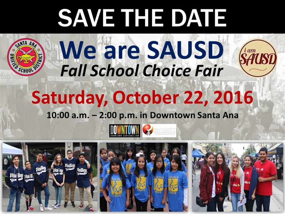 School Choice Fair Fall